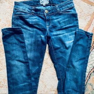 Current/Elliot Blue Skinny Jeans